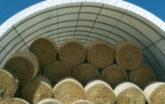 Hay Storage under a PonyWall Building