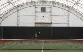 indoor tennis facility