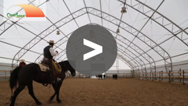 Equine facilities made easy by ClearSpan