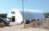 Manufacturing Fabric Building - Outside View