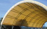 Beige Round HD Building