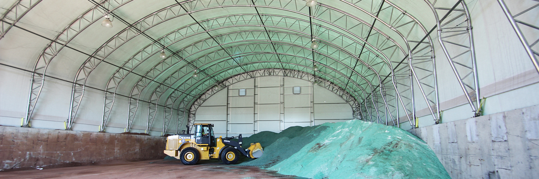 Sand and Salt Storage Building