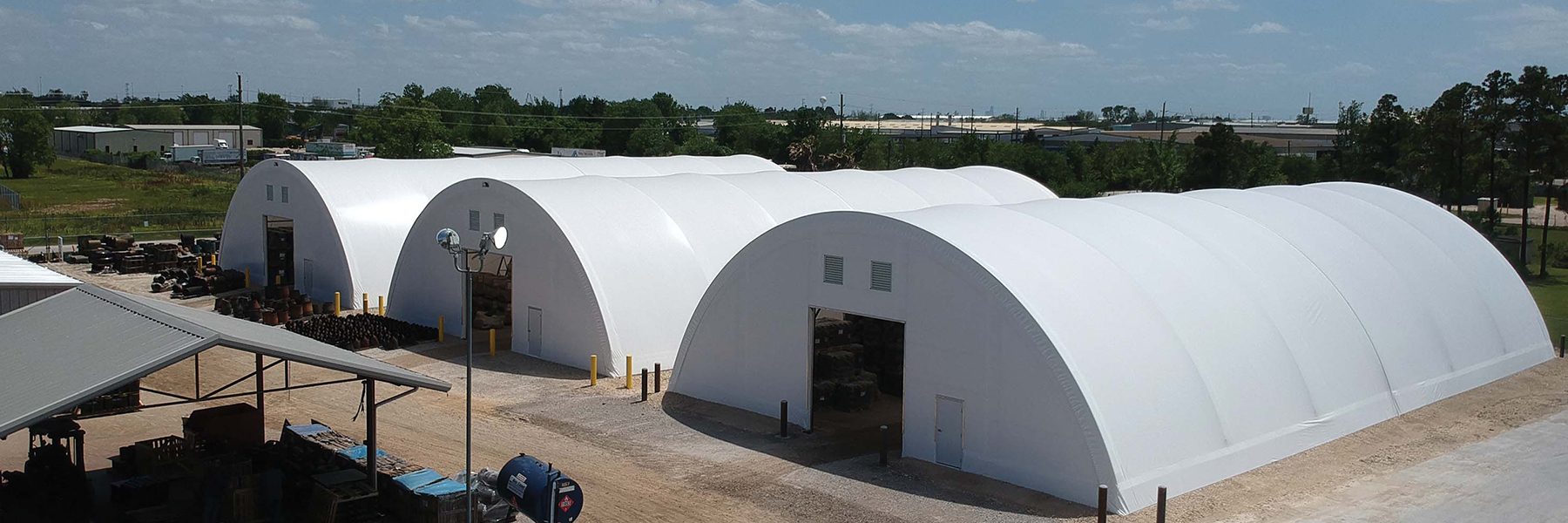 Industrial Storage using three fabric structure