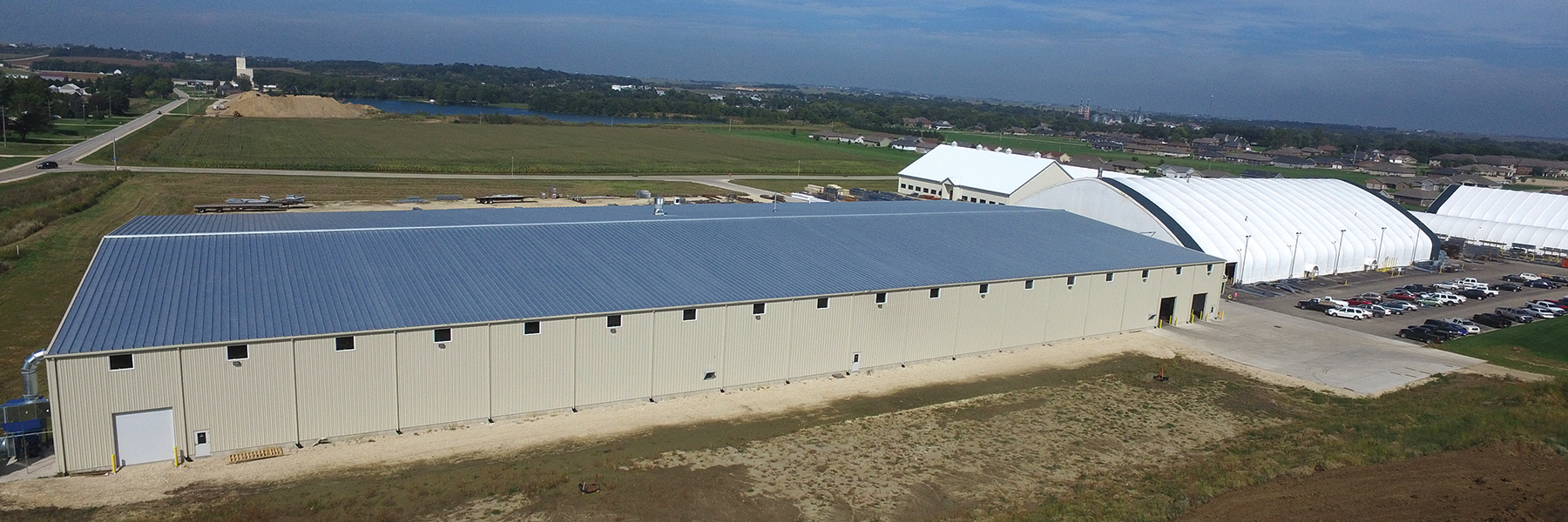 Beam and Metal Building at our Iowa Facility
