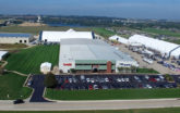 Iowa Campus Aerial Photo