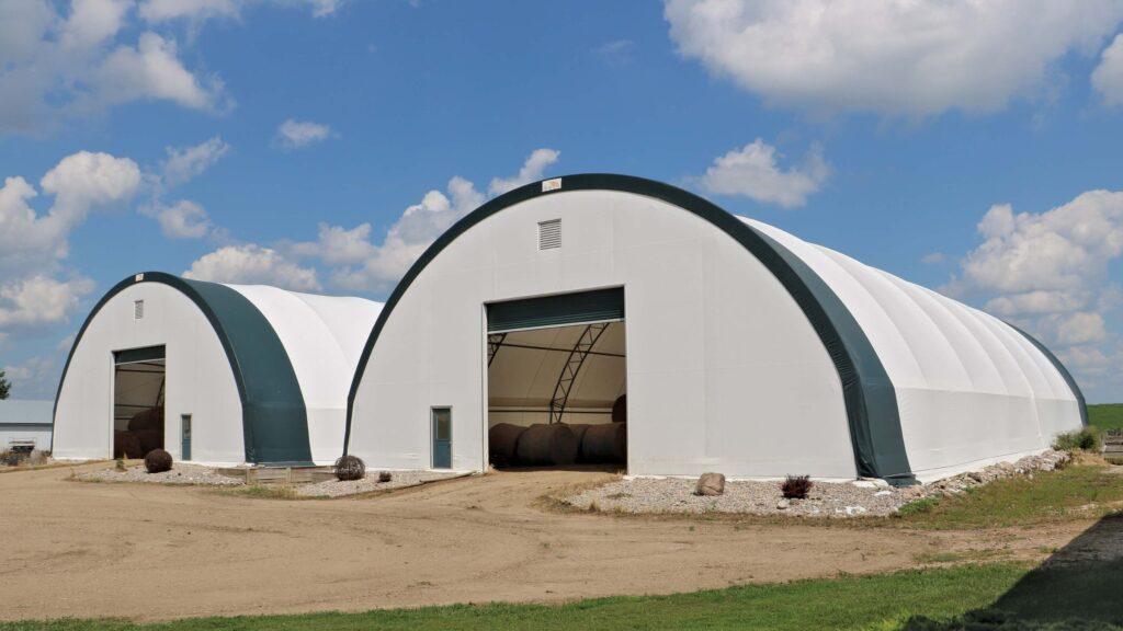 Hay Storage Fabric Structure
