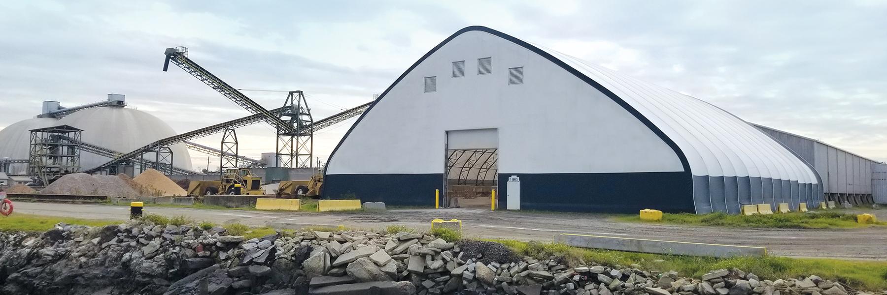 Mining Site Fabric Building